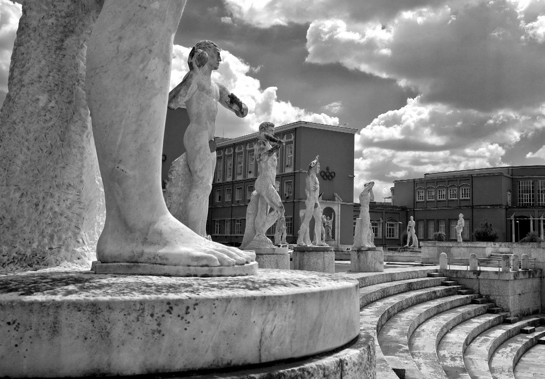 Pin Su Foro Italico Ex Foro Mussolini In Rome
