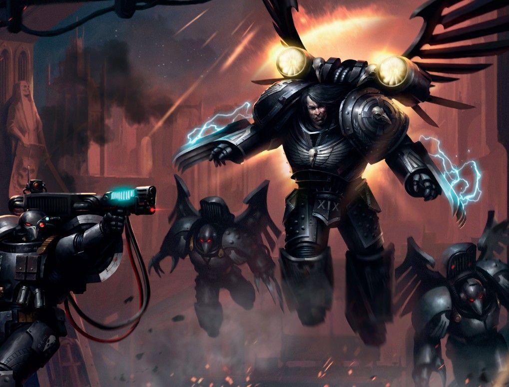 Corvus Corax | WH40K: Primarchs | Warhammer art, Warhammer