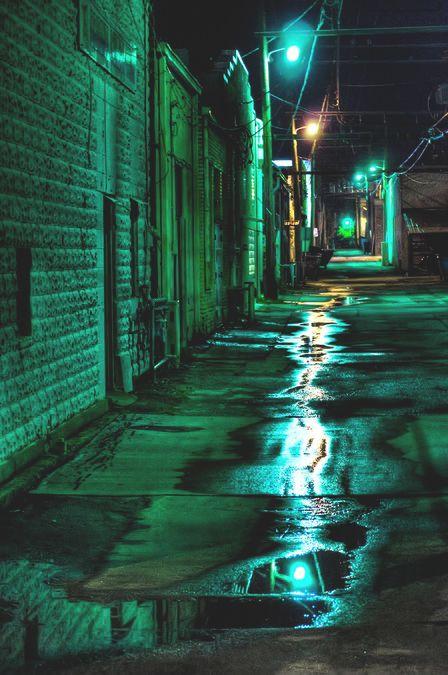 I'm going to cyberpunk mecca - Hong Kong | Dark green ...