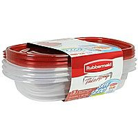 Rubbermaid Takealongs Redesigned Rectangle Food Storage Container