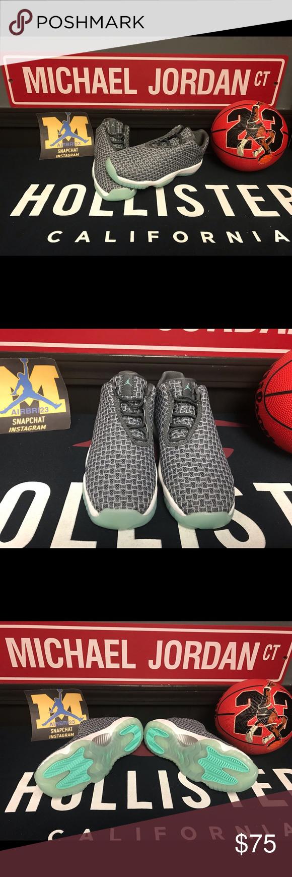 "6adab5750e874 Air Jordan Future Low GS ""Wolf Grey"" Size 6.5Y Brand New Size 6.5Y ..."