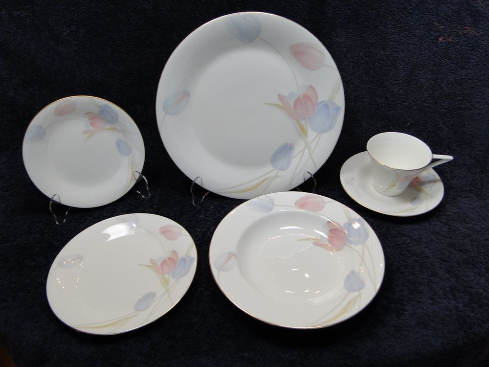 Dinnerware & END OF THE MONTH CLEARANCE SALE! Mikasa Bone China Swiss Garden ...