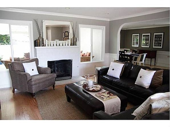 Paint Ozark Shadows Benjamin Moore White Pottery Barn Pillows Gorgeous And Gray