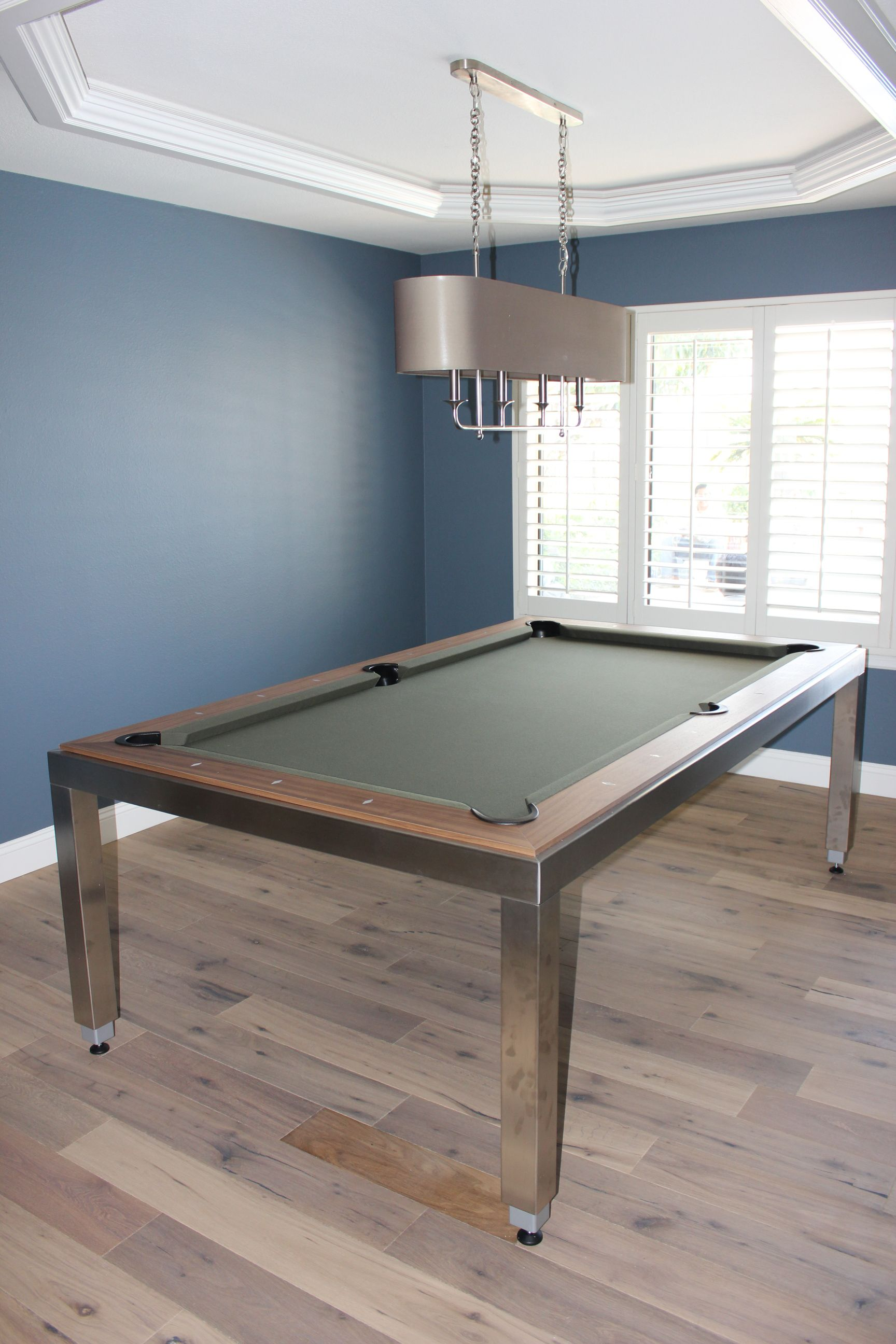 Stainless Steel Fusion DK Billiards Pool Table Moving Repair - Pool table movers orange county