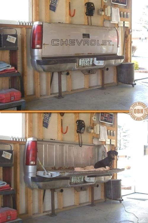 Chevy Garage Accessory cars cool truck garage accessory man cave mancave garage ideas