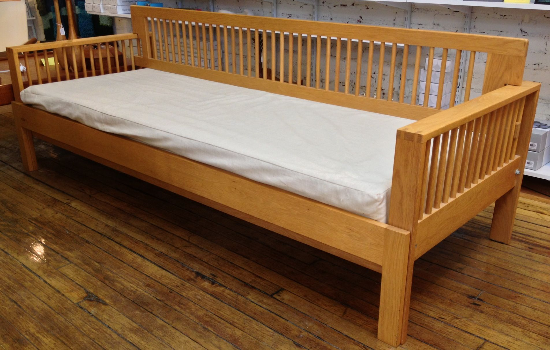 Lovely Charles Webb Daybed + Sofa Combo. The Cushions Pull Out To Make A Full Bed