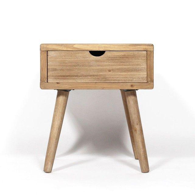 Made In Meubles Table De Chevet Mdf Style Scandinave Dn26 La Redoute Table De Chevet Table De Salon Chevet