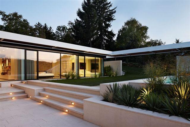 Casa minimalista Odberg / Proyecto A01 Arquitectos, Austria