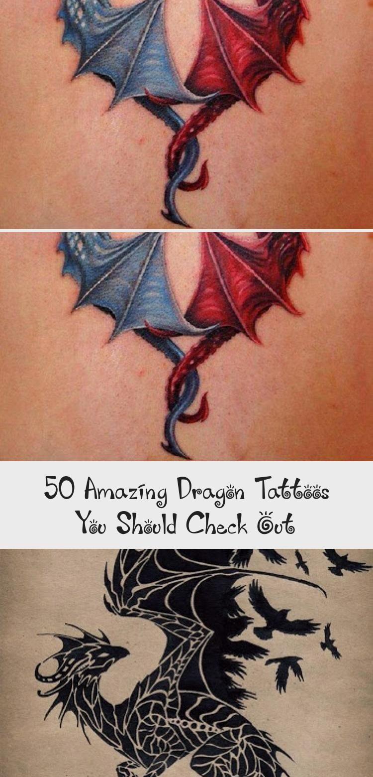 Photo of Dragon Tribal Tattoo hoch stilisiert. …