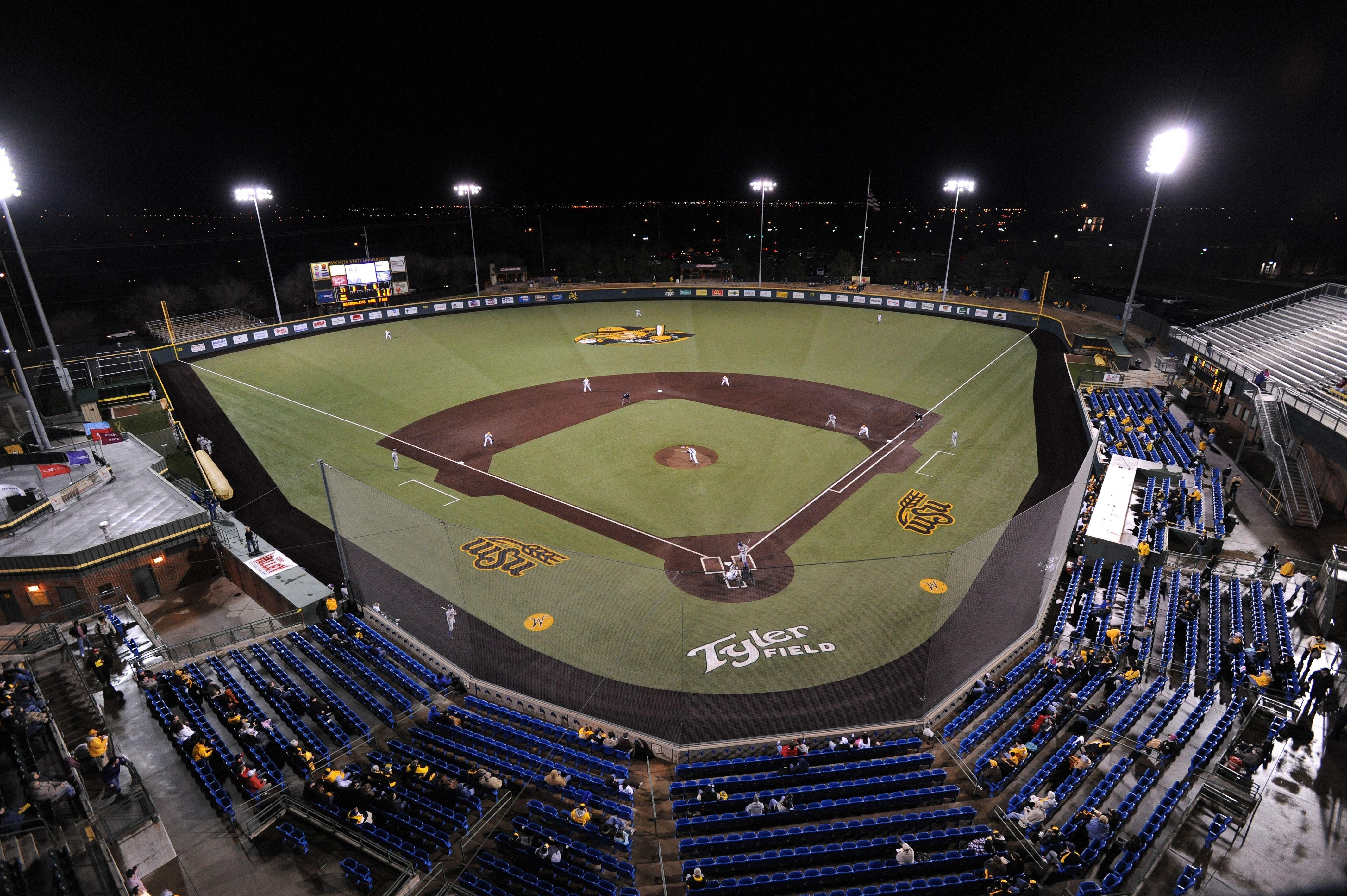 Wichita State University Eck Stadium 166 800 Square Feet Of Astroturf Gameday Grass 3d Installed In 2009