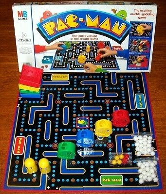 Pac Man board game by MB Games