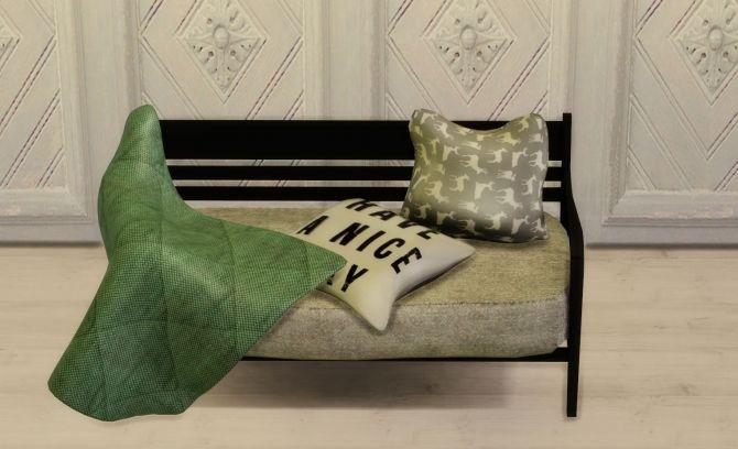 Throw Pillows Sims 4 : ANYE 2016 Sofa, Blanket and Pillows at Leo Sims Sims 4 Updates Sims 4 Stuff :) Pinterest ...
