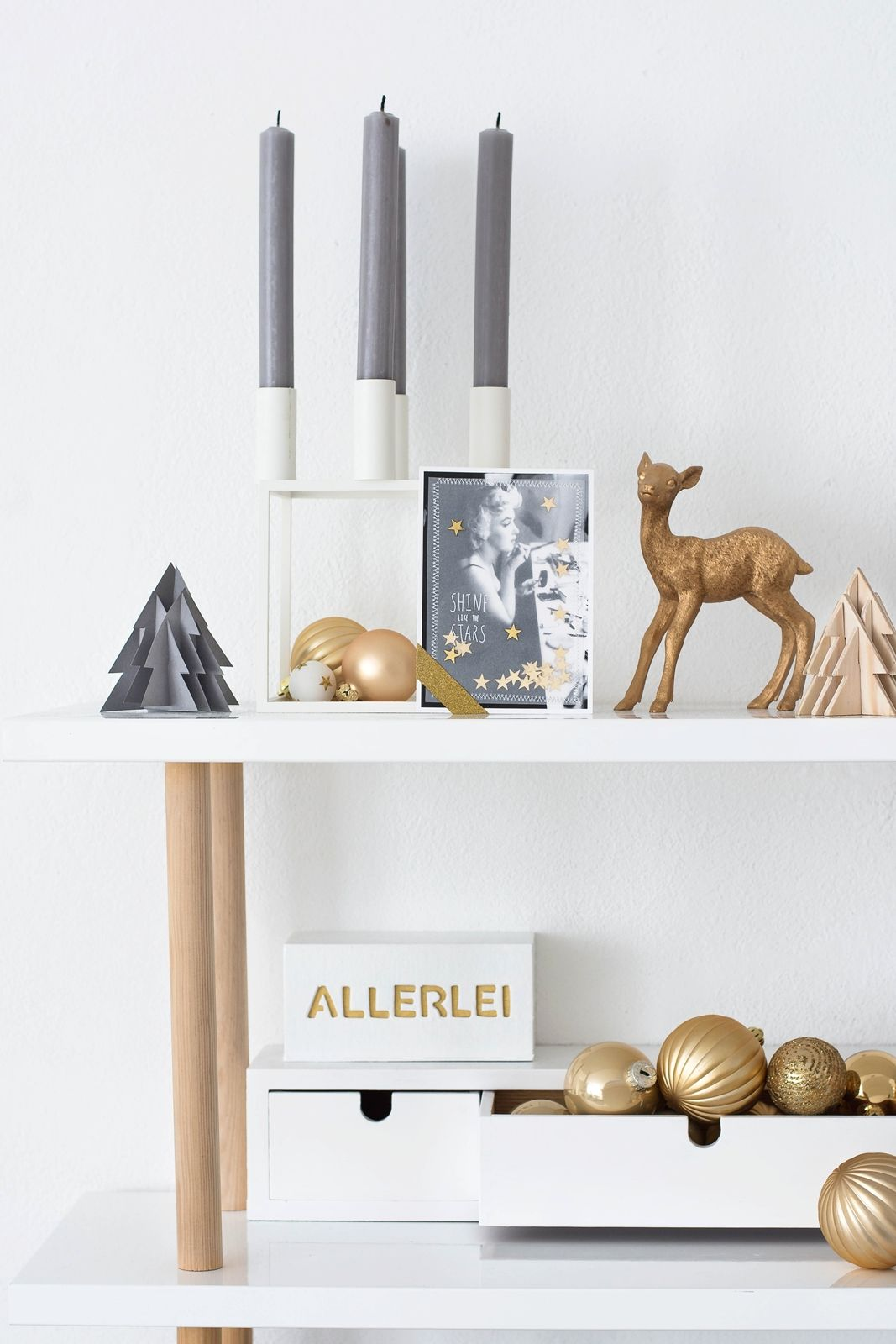 Nostalgische Weihnachtskarten selbermachen | Creative Advent ...