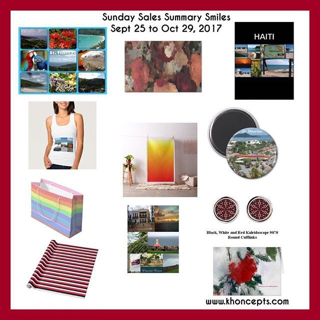 Sunday Sales Summary Smiles - Sept 25 to Oct 29, 2017  #thankful