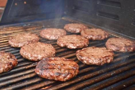 Hamburger Marinade. Let hamburgers soak for an hour before grilling and you are good to go.