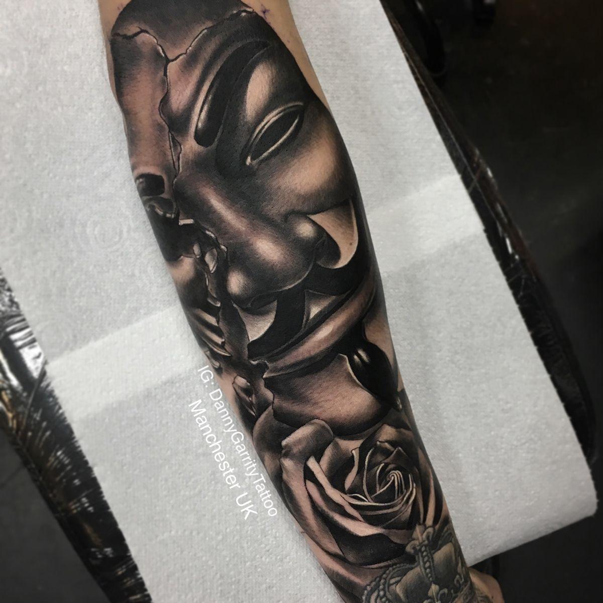 V For Vendetta Tattoo Sleeve Vendetta Tattoo V For Vendetta Tattoo Tattoos
