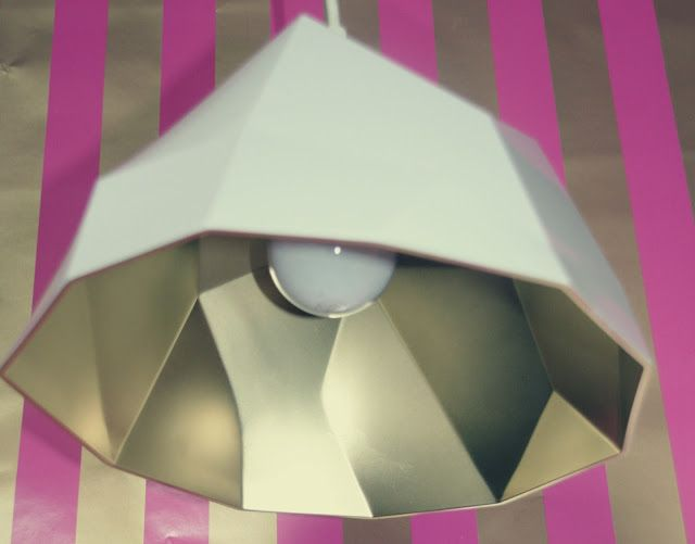 DIY Glam Pendant Light out of a $10 bowl! retropolitan: Make it Monday...DIY Glam pendant.