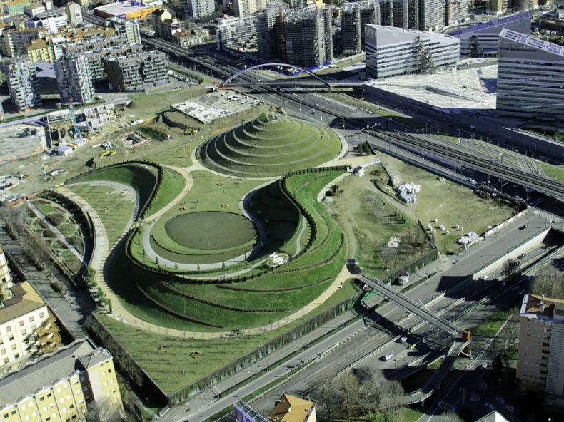 Il giardino dei pensieri landscape architetti del for Architettura giardini