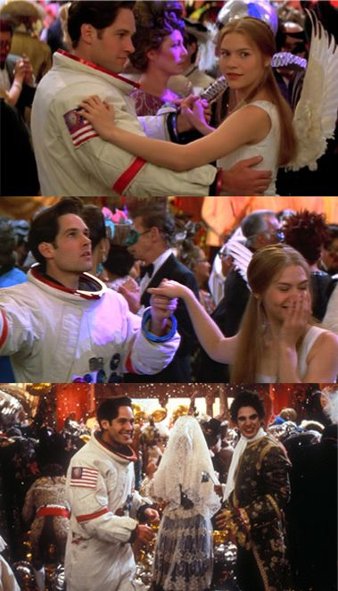 Paul Rudd & Claire Danes in Baz Luhrmann's 'Romeo + Juliet