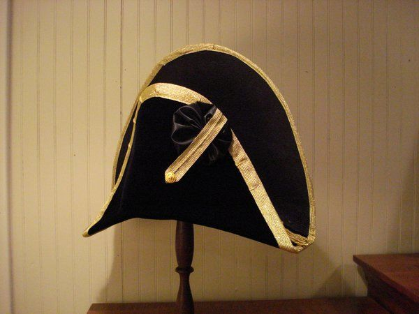 8deb1d021bd Naval Officer Cocked Hat Napoleonic Era