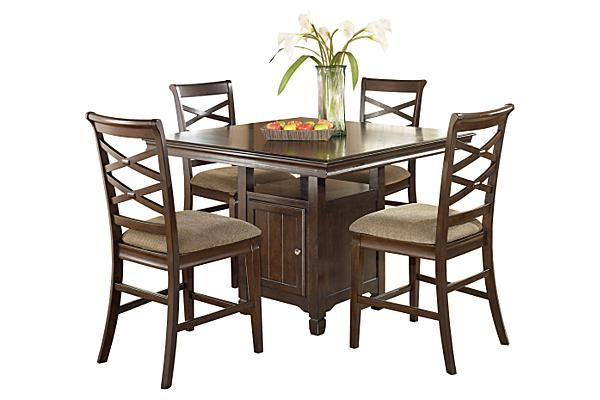Hayley Rectangular Extension Table by Ashley Furniture ...
