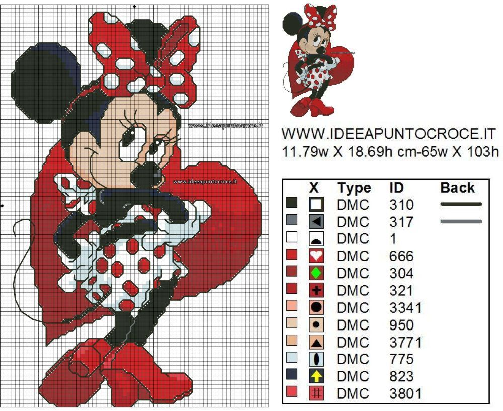 Paper ver Cross Stitch Pattern Mickey /& Minnie Mouse Wedding or PDF files.