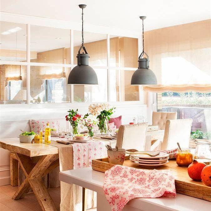 Esta cocina quería vida social… ¡y lo ha conseguido! | Cocina office ...