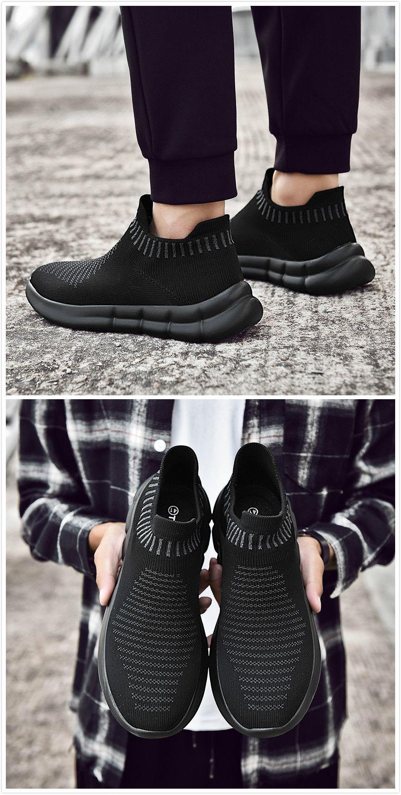 TIOSEBON Mens Running Sneakers