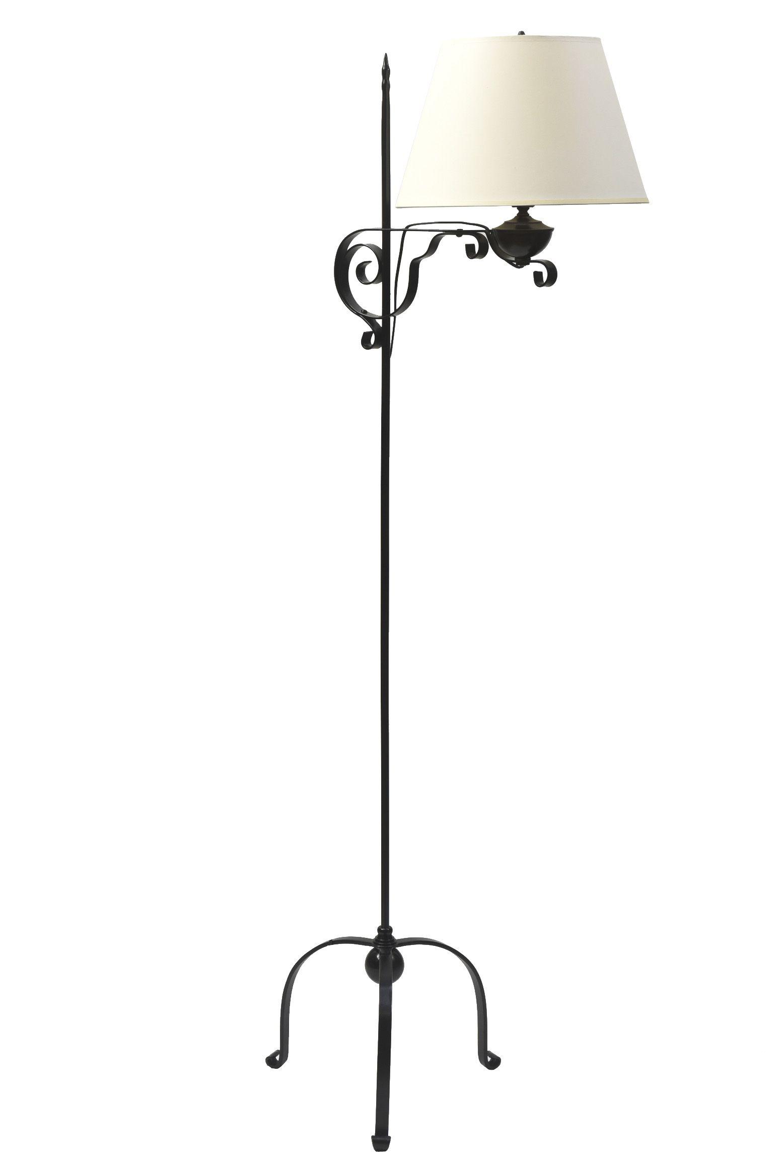 Sold Colonial Style Iron Bridge Lamp