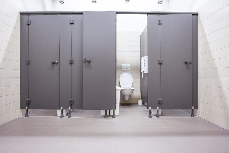 This Is The Only Stall You Should Use In A Public Bathroom Public Bathrooms Bathroom Stall Bathroom Shower Stalls