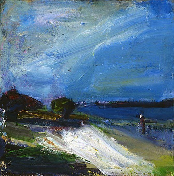 Terry St. John - Stormy Day - Berkeley Marina