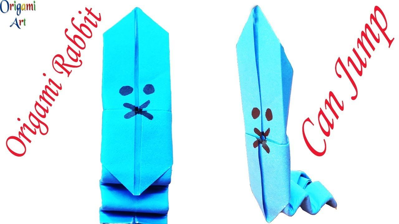 Origami Rabbit Easy Instructions Super Easy Origami Rabbit Setp By