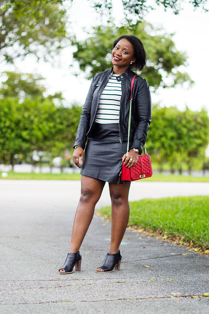 all black outfit with stripes and rebecca minkoff love crossbody red 1 by @rachellesjb