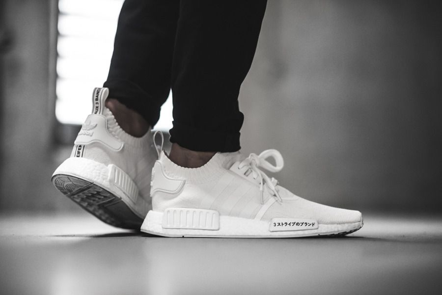 super popular d13bd 698e0 adidas NMD R1 PK (BZ0221) Japan Pack Triple White USD 175 HKD 1370 Pre