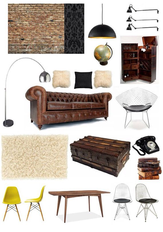 Bachelor Pad E Design Package By HomeAndPartyStylist On Etsy, £249.00