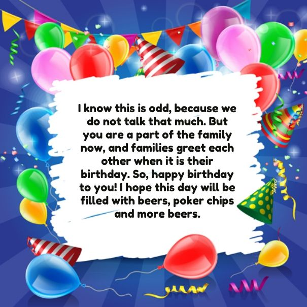 Code for forums url http wishbirthday you are part birthday code for forums url http wishbirthday you are part birthday messages wishes step brothers brother don bookmarktalkfo Image collections