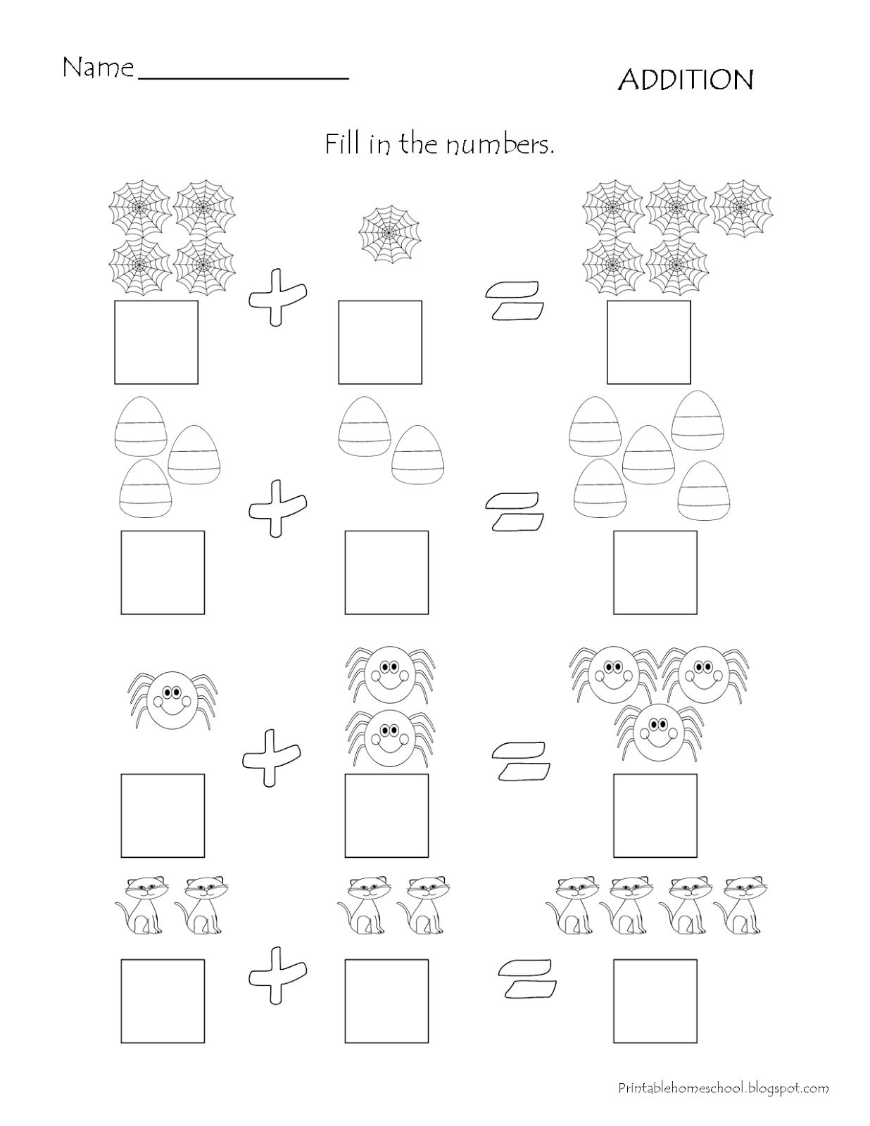 Addition Worksheet Com Imagens