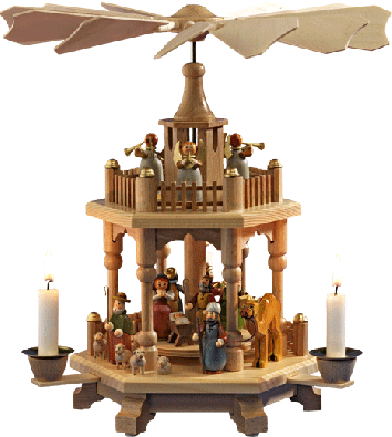 """Heavenly Fanfare"", Pyramid"