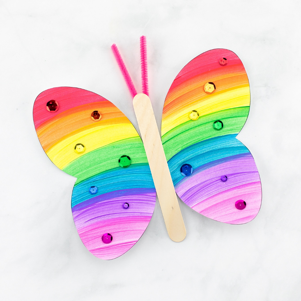 Photo of How to Make a Fluttering Paper Butterfly Craft