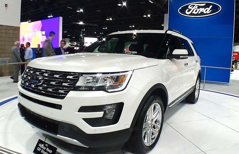 2017 Ford Explorer Review, Release Date, Price (With