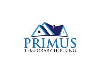 Primus2 Temporary Housing Home Logo Logo Design