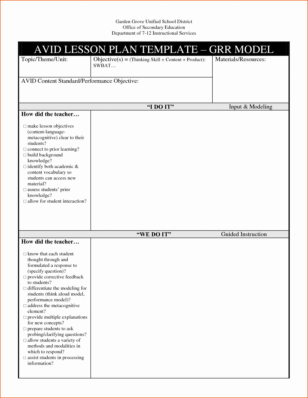 Tiered Lesson Plan Template Fresh Tiered Lesson Plan Template Doc Pictures Sludgeport High School Lesson Plans Lesson Plan Templates Math Lesson Plans Template 21st century lesson plan template