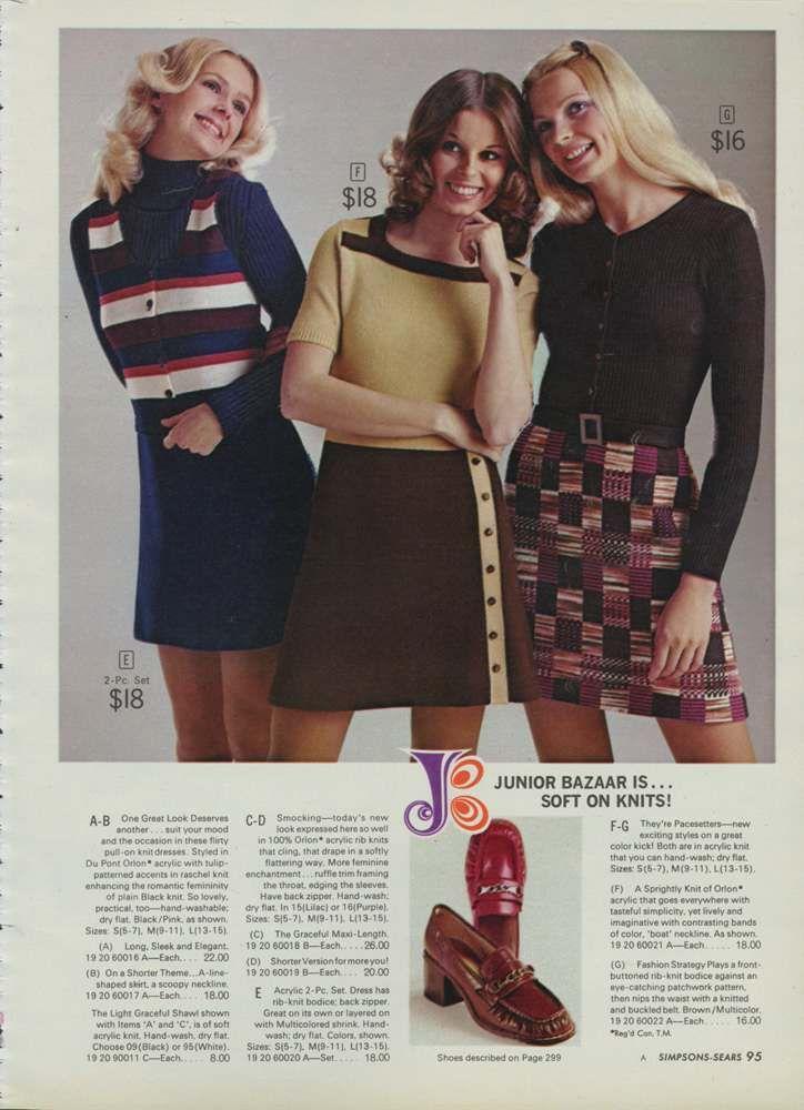 4babfc5c016 Miniskirts And Lots Of Purple  A 1972 Women s Fashion Catalog ...