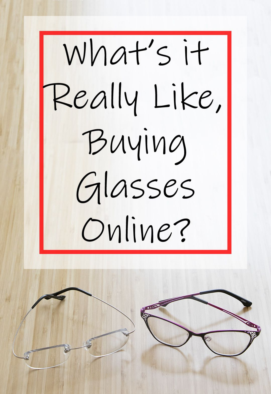 What's it Like Buying Glasses Online? Sponsored by Zenni
