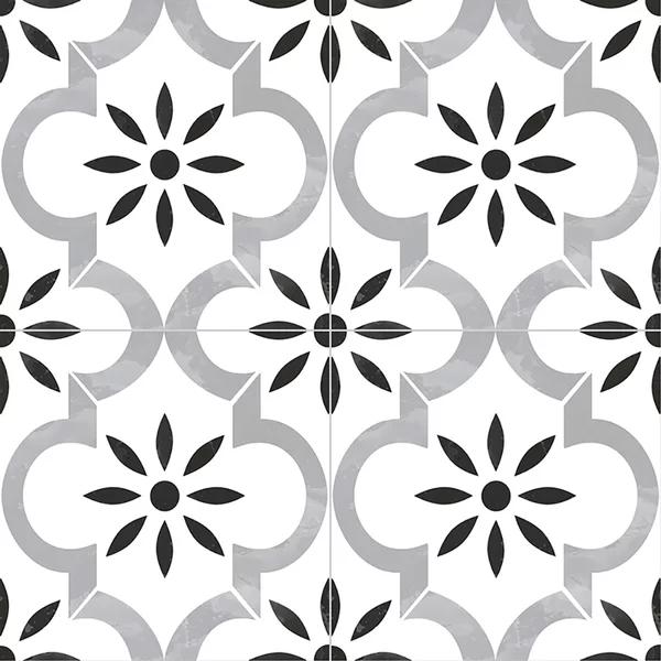 "Kenzzi 8"" x 8"" Porcelain Patterned Wall & Floor Tile"