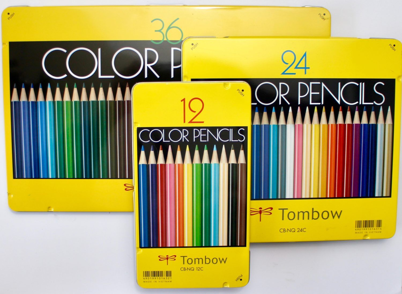 Tombow Color Pencils CB-NQ 24C
