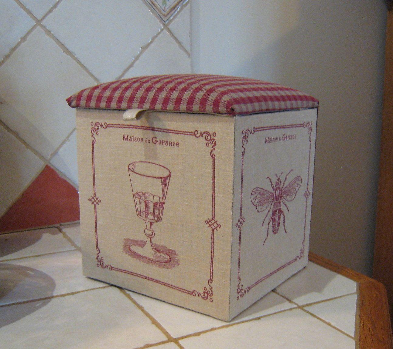 Boîte de rangement pour cuisine, boîte à thé, boîte pour recettes