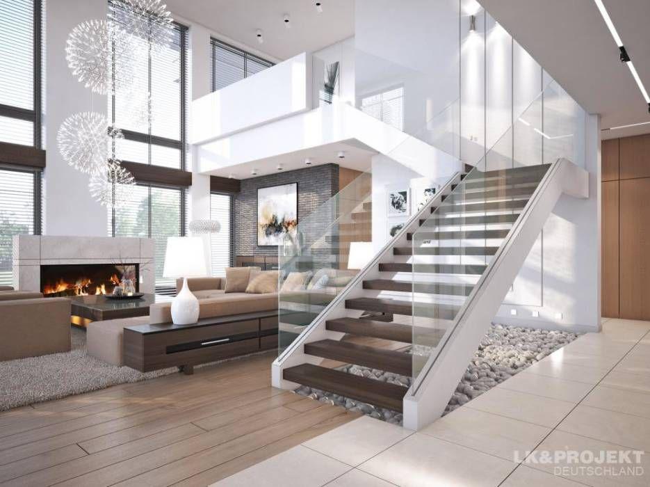 Innendesign Wohnzimmer ~ Wohnideen interior design einrichtungsideen & bilder moderne