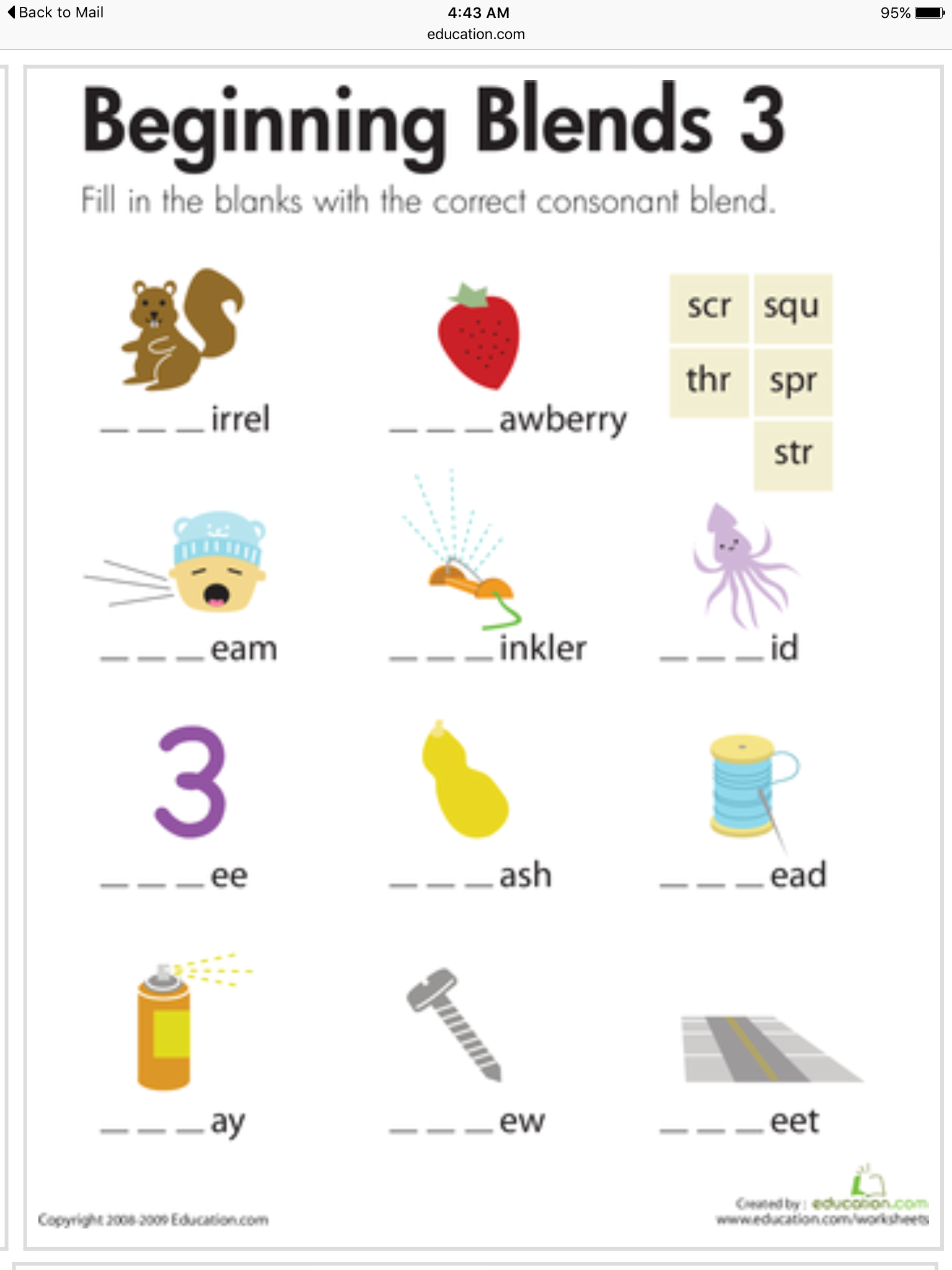 Pin About Consonant Blends On Speech Therapy