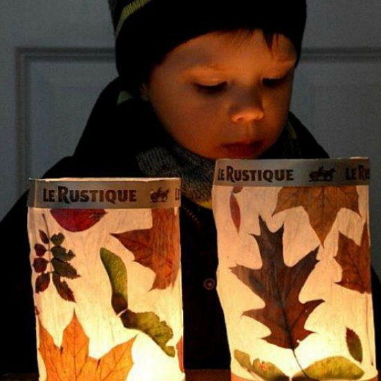Lovely Create A Beautiful Warm Leaf Lantern Glow This Fall. These Leaf Lanterns  Are Surprisingly Easy Design Inspirations